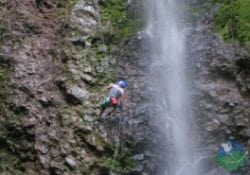 Costa Rica Adventure tours Canyoning