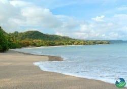 Shorline of Cabuya Costa Rica
