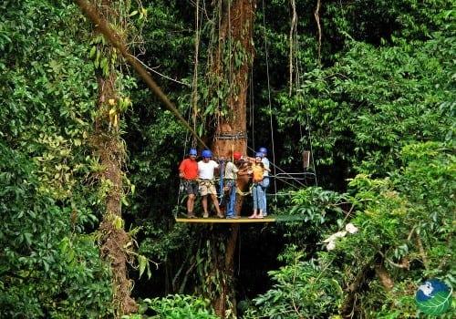 Arenal Canopy Tour Platform