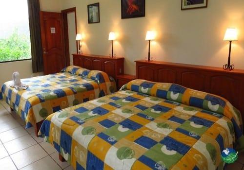 Arenal Observatory Lodge Bedroom