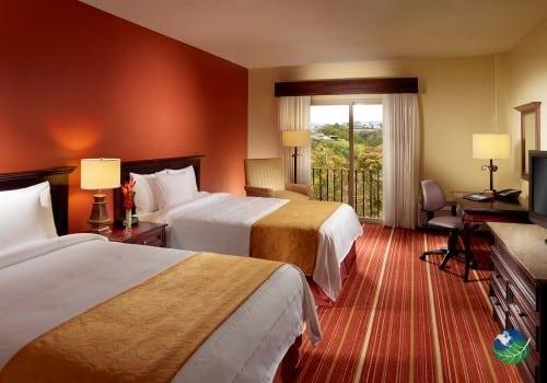 Courtyard Marriott Escazu Two Bed Bedroom