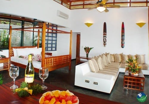 Makanda by the Sea Villa Interior