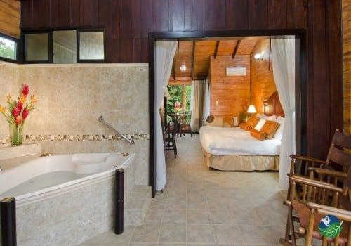 Montana De Fuego Resort Bathroom & Bedroom