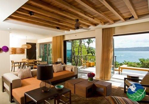 Andaz Papagayo living room