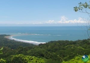 Ballena Beach View from the Mountains