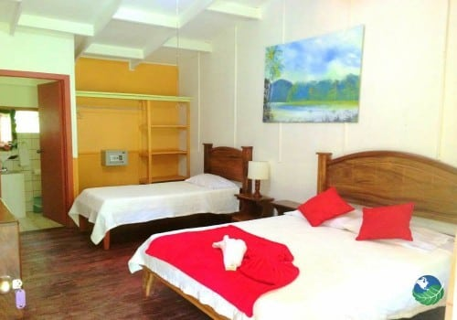 Caribbean Paradise Eco Lodge Bedroom