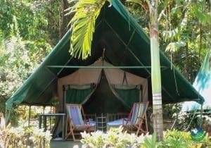Corcovado Adventures Tent Camp Exterior