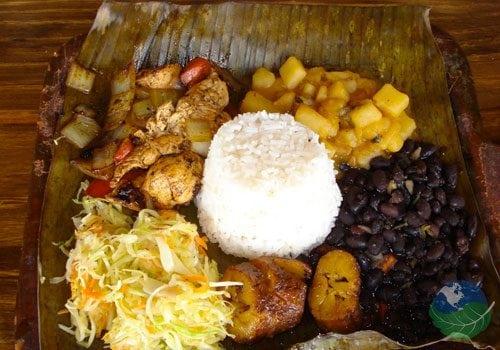 Costa Rican food Salad