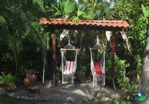 El Encanto Inn Cahuita Hanging Chairs