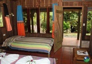 Esquinas Rainforest Lodge Bedroom