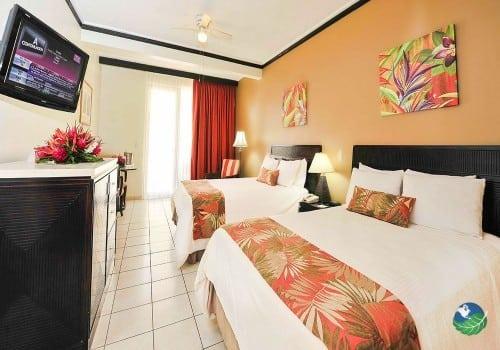 Flamingo Beach Resort Bedroom