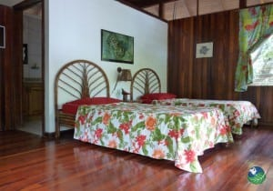 Golfo Dulce Lodge Bedroom