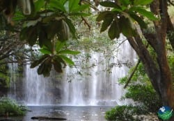 Guanacaste Costa Rica Waterfall