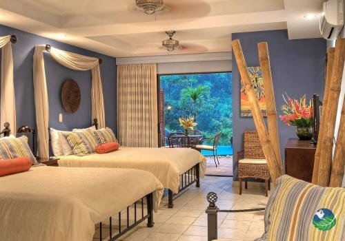 Hotel Pumilio Two Bed Bedroom