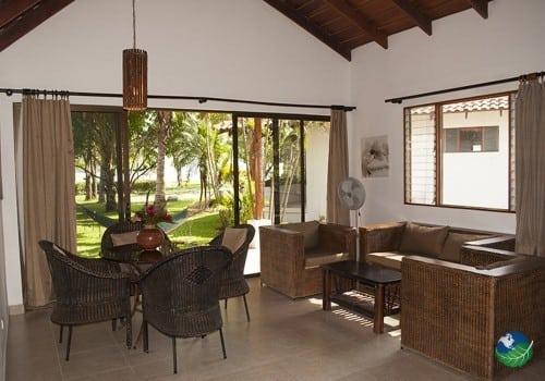 Hotel Villas Playa Samara Living Area