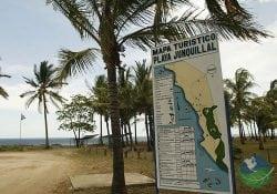 Junquillal Beach Map