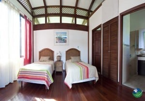 Kenaki Lodge Two Bed Bedroom