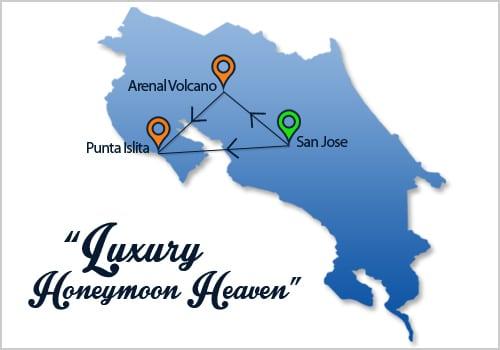 Luxury Honeymoon Heaven Map