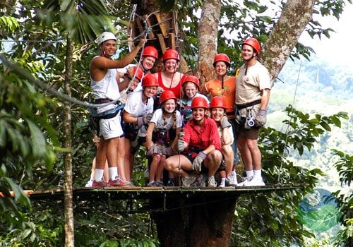 Manuel Antonio Tours Canopy Fun