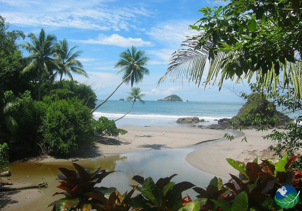 Manuel Antonio Costa Rica beach