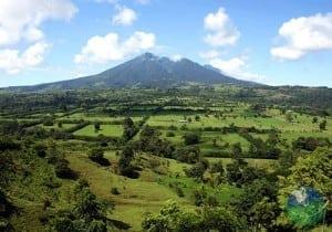 Miravalles Volcano view