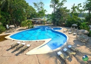 Pachira Lodge Pool Area