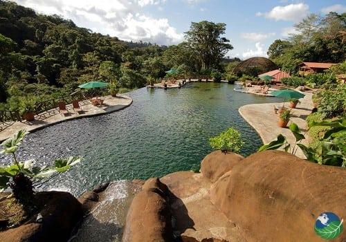 Peace Lodge Pool Area