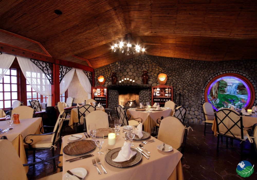 Peace Lodge Costa Rica Restaurant