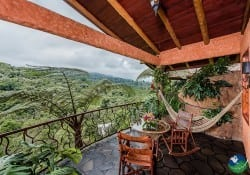 Peace Lodge Deluxe Room Balcony