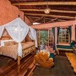 Peace Lodge Deluxe Bedroom
