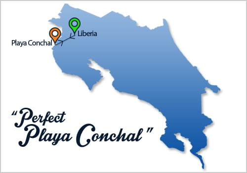 Perfect Playa Conchal Map