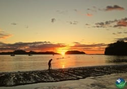 Playa Potrero Costa Rica sunset