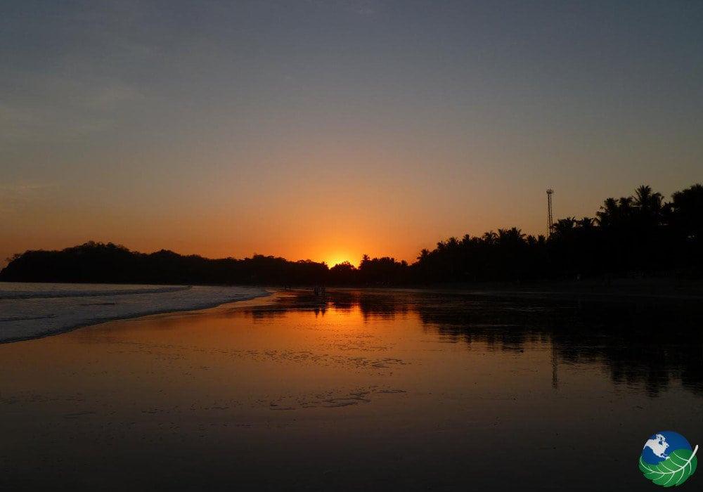 Samara Costa Rica sunset