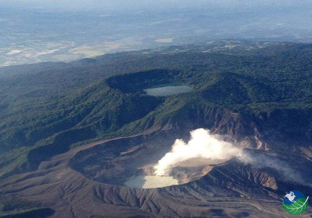 Poas Volcano Second Largest Crater In The World