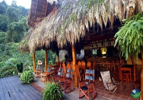Rafiki Safari Lodge Terrace