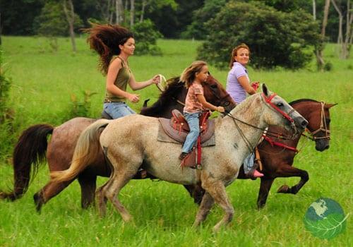 Safari Horseback Riding In Costa Rica Manuel Antonio By