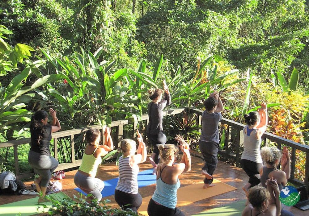 Samasati Nature Retreat Yoga