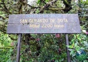 San Gerardo De Dota