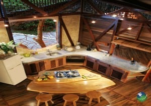 Tree House Lodge Kitchen