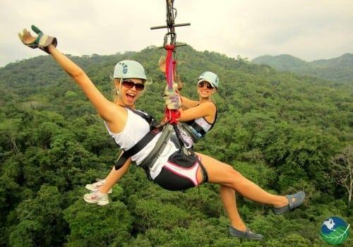 Costa Rica Ziplining Arenal Canopy Fun