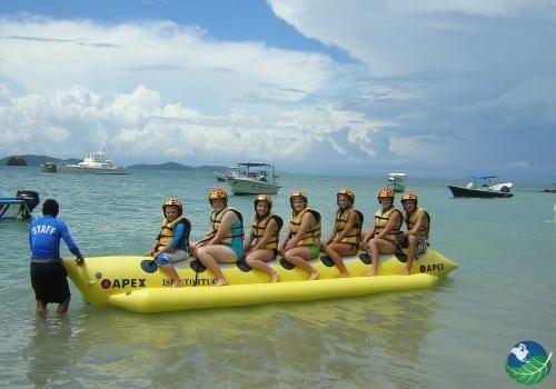 Banana Boat Ride Costa Rica Aventure