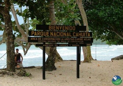 Cahuita National Park Entrance