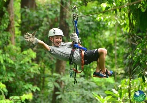 Manuel Antonio Canopy for kids Costa Rica
