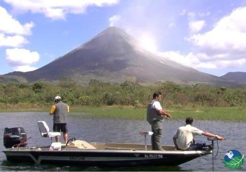 Fishing Lake Arenal