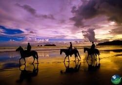 Horseback Riding Costa Rica Manuel Antonio Sunset