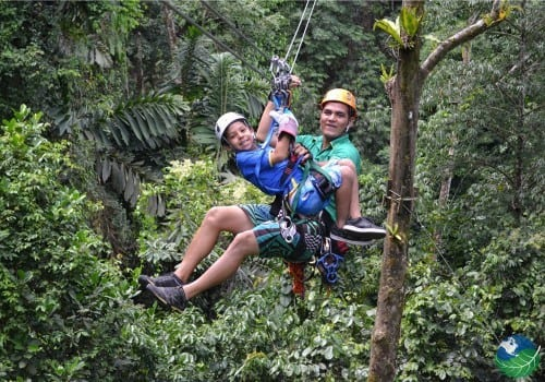 Costa Rica Zip Line Tour Midworld Kid