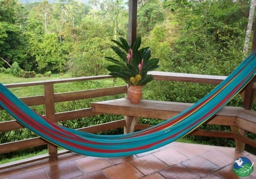 Lay back and relax at Selva Bananito Lodge