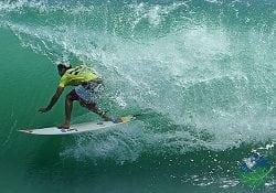 surfing tunnel