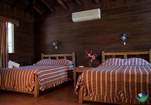 Canyon De La Vieja Lodge Bedroom