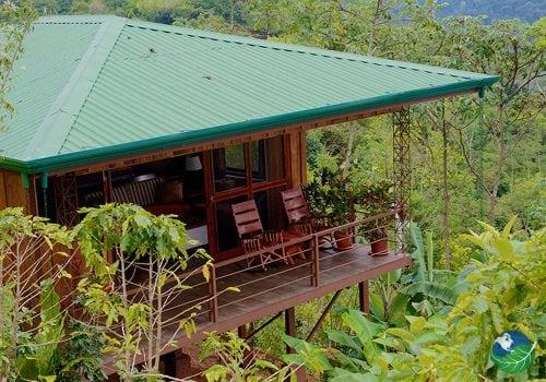 Santa Juana Lodge Balcony View